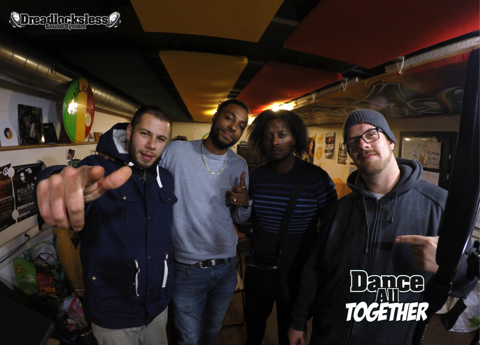 Dance All Together 9 mai 2016 invité : LION MESSAGER
