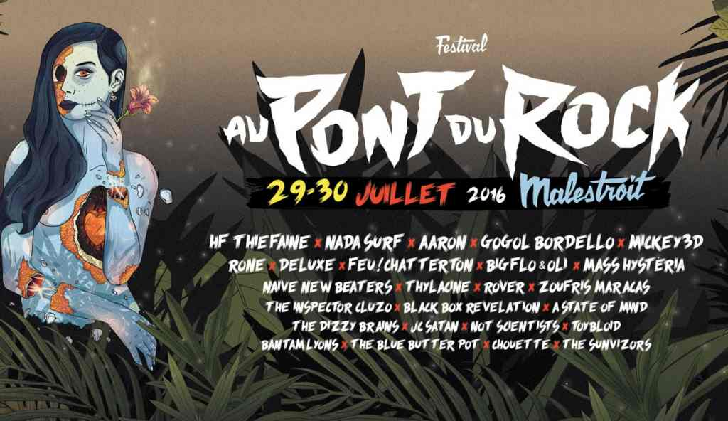 On bouge nos cheveux ce week-end au Pont du Rock de Malestroit