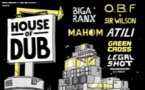 Gagnez vos places pour HOUSE OF DUB /w Biga* Ranx + O.B.F & Sr. Wilson + Mahom + Atili + Green Cross + Legal Shot Sound System Samedi 19 Octobre 2019 Le Liberté – Rennes