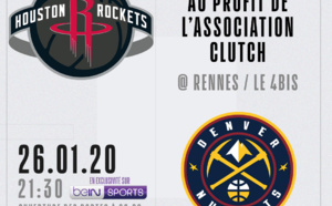 Rockets - Nuggets: Soirée NBA x Clutch !